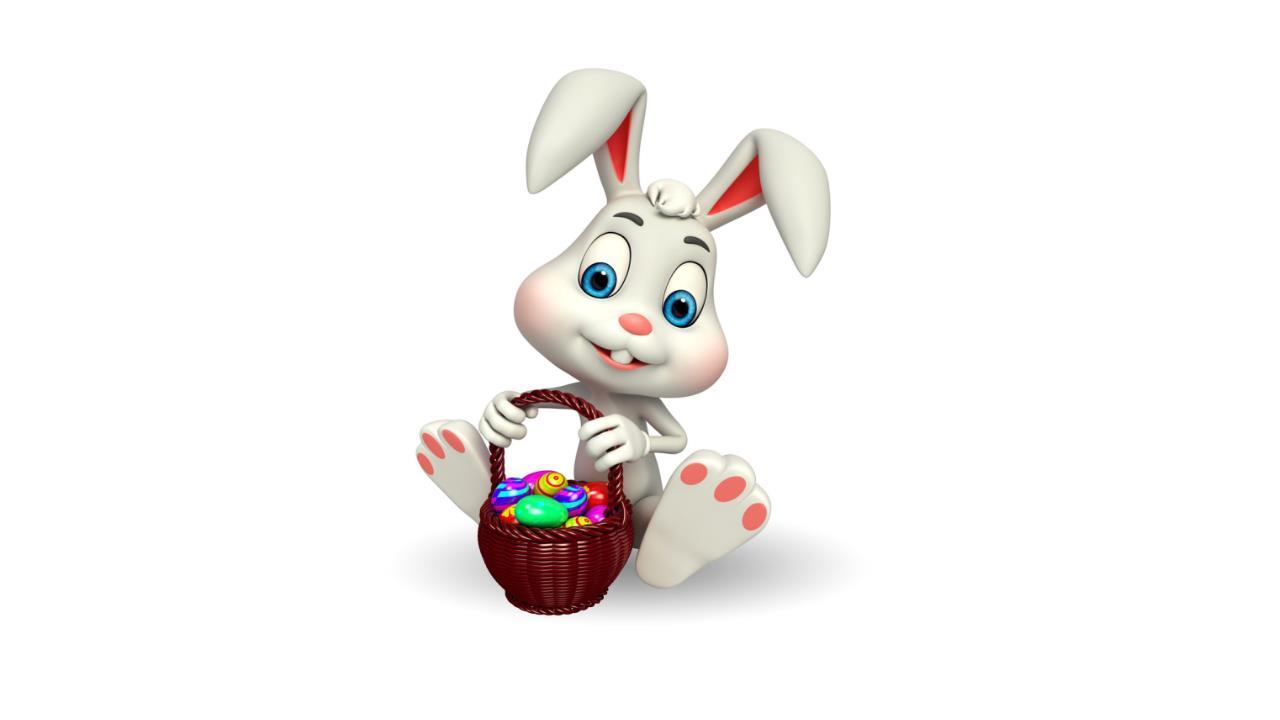 兔子ppt图片素材