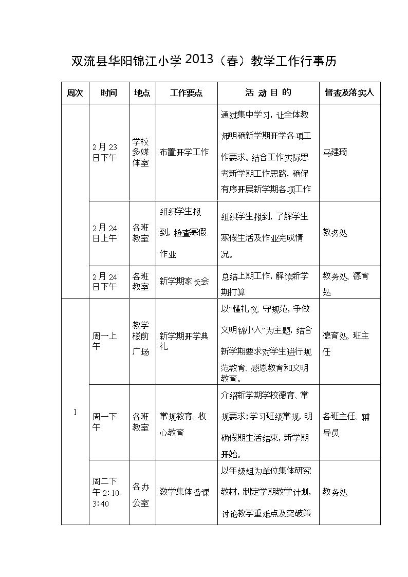 2014双流县锦江华阳人教.doc一上册版小学年级小学数学教案图片