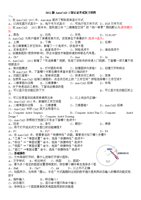 (autocad2011版1级黑白nba.doc2012cad题库打印图片