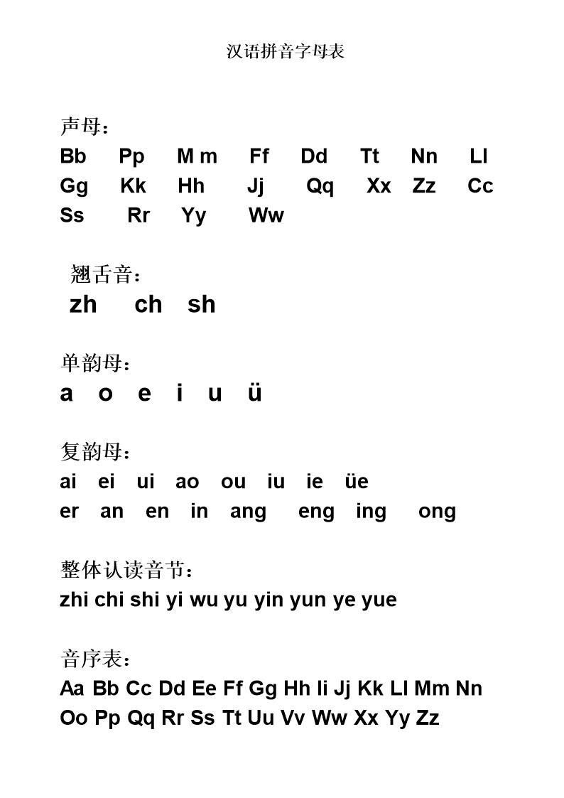 汉语拼音字母表_完教案_可A4打课件.doc节约用水整版教案图片