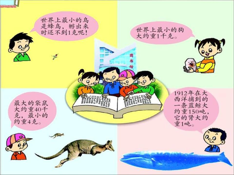 (青岛版)三年级数学上册课件_克,千克的认识.ppt