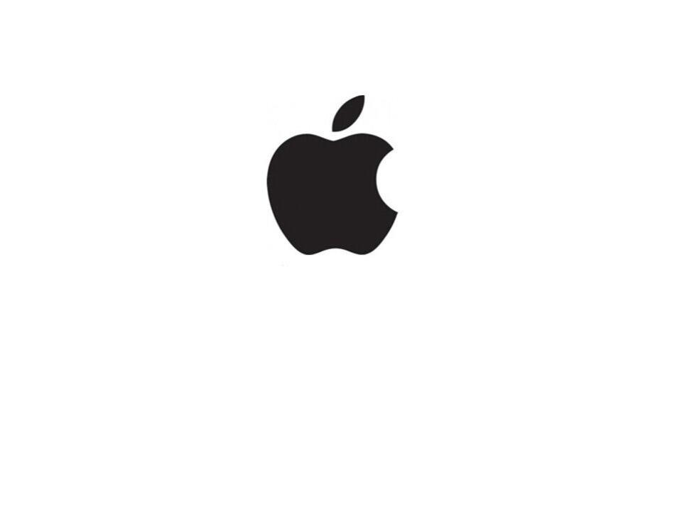 可爱的苹果图形 壁纸