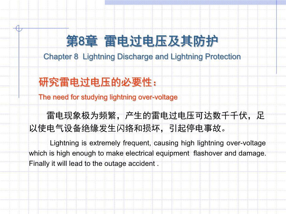 高电压技术吴广宁8-0教学线描.ppt课件课件创意ppt图片