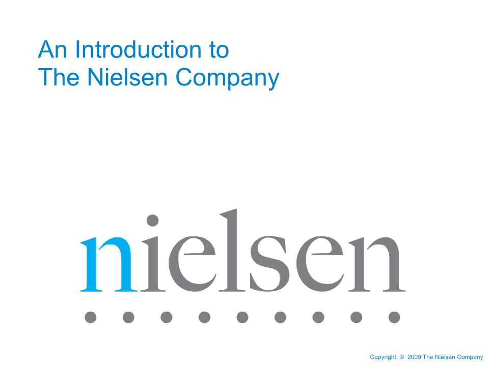 the nielsen company overview presentation startseite尼尔森公司