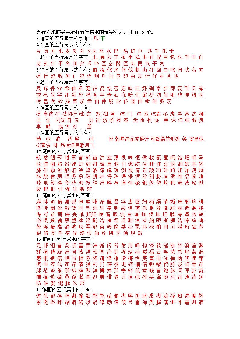 康熙字典字笔画.doc