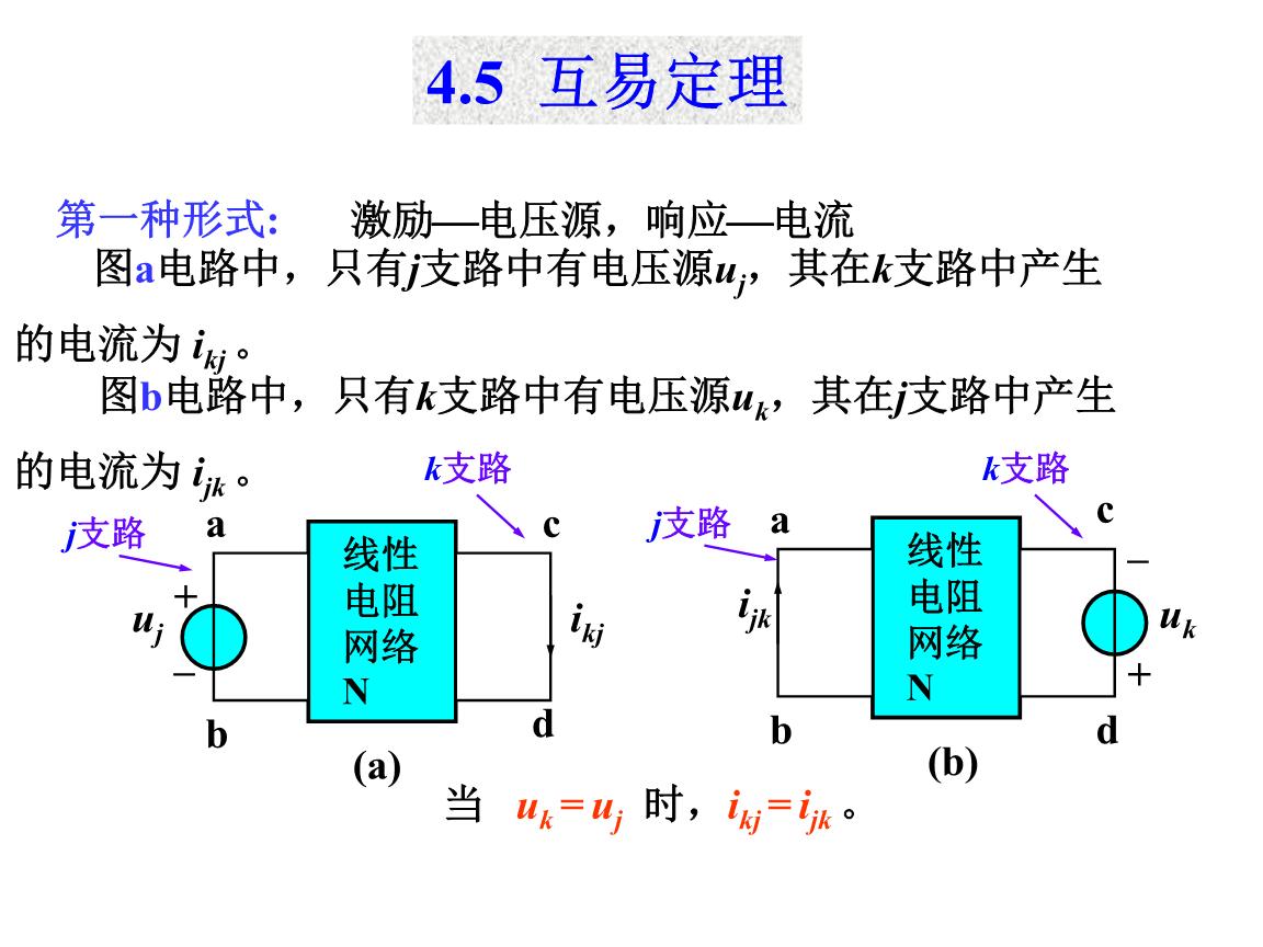 互易定理 电路原理第一版课件典型实例.ppt