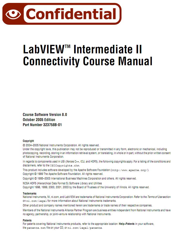 《LabVIEW Intermediate II (NI官方培训教程).Image.Marked.pdf