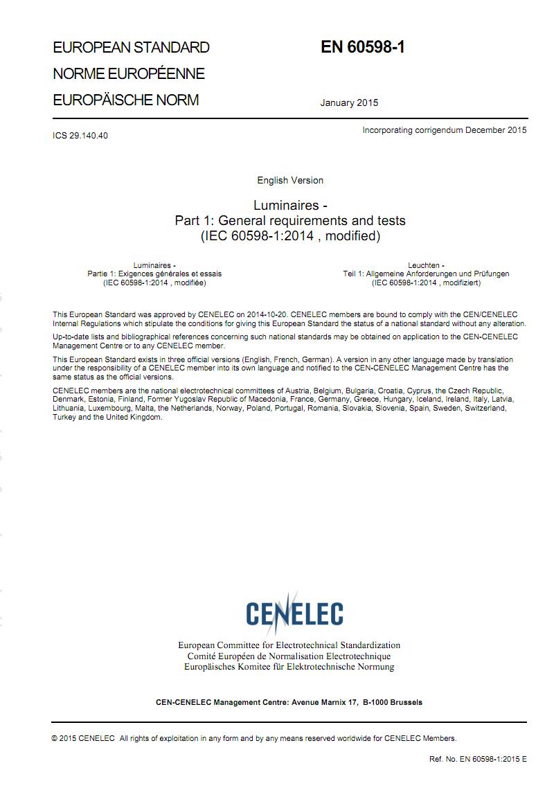 标准Do_BS EN 60598-1-2015+A1-2018 pdf